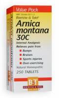 Homeopathy - Boericke & Tafel - Boericke & Tafel Arnica Montana 30C 250 tab