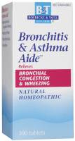 Homeopathy - Boericke & Tafel - Boericke & Tafel Bronchitis & Asthma Aide 100 tab