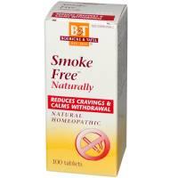 Homeopathy - General Health - Boericke & Tafel - Boericke & Tafel Smoke Free 100 tab