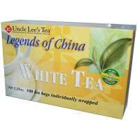 Uncle Lee's Tea - Uncle Lee's Tea Legends of China White Tea 100 bag (2 Pack)