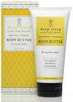 Buy One, Get One Free - Deep Steep - Deep Steep Body Butter Grapefruit Bergamot - 6 oz (2 Pack)