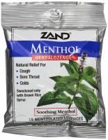 Health & Beauty - Cough Syrup & Lozenges - Zand - Zand HerbaLozenge - Menthol 15 loz