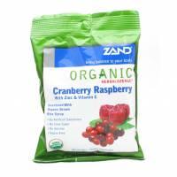 Health & Beauty - Cough Syrup & Lozenges - Zand - Zand HerbaLozenge - Organic Cranberry Raspberry 18 loz