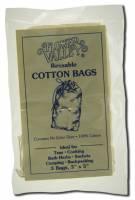 Kitchen - Tea - Flower Valley - Flower Valley Reusable Cotton Teabags (3 pack)