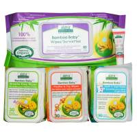 Baby - Wipes - Aleva Naturals - Aleva Naturals Bamboo Baby Wipes Gift Set
