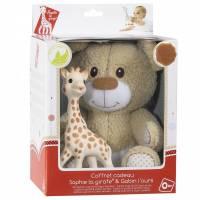 Baby - Baby & Toddler Toys - Vulli - Vulli Sophie the Giraffe & Gabin The Bear Set
