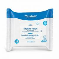 Mustela Facial Cleansing Cloths 25 ct