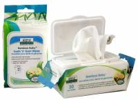 Baby - Wipes - Aleva Naturals - Aleva Naturals Bamboo Baby Wipes - Tooth & Gum 30 ct