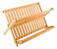 """BuyItHealthy Collection - BIH Collection - BIH Collection Bamboo Dish Rack 17.75"""" x 9.75"""""""