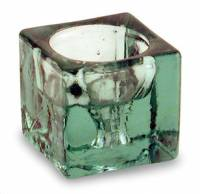 BuyItHealthy Collection - Candles - BIH Collection - BIH Collection Recycled Glass Cube Candle Holder