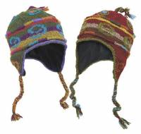 BuyItHealthy Collection - Clothing - BIH Collection - BIH Collection Nepalese Wool Fancy Hat with Tassles