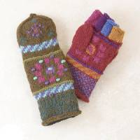 BuyItHealthy Collection - Clothing - BIH Collection - BIH Collection Nepal Sherpani Fingermittens with Flaps