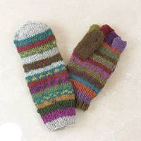 BuyItHealthy Collection - Clothing - BIH Collection - BIH Collection Nepalese Wool Fingerless Gloves with Flaps