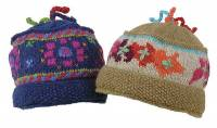 BuyItHealthy Collection - Clothing - BIH Collection - BIH Collection Nepalese Wool Three Tassel Hat with Wide Brim