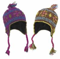 BuyItHealthy Collection - Clothing - BIH Collection - BIH Collection Nepalese Wool Vajra Earflap Hat