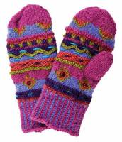 BuyItHealthy Collection - Clothing - BIH Collection - BIH Collection Nepalese Beaded Mitten - Pink