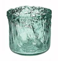 Home Products - Vases - BIH Collection - BIH Collection Recycled Glass Ice Vase Round 4.5""