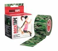 """RockTape Kinesiology Tape for Athletes Camou Green Wood 2"""""""