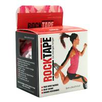 """RockTape Kinesiology Tape for Athletes Camou Pink Wood 2"""""""