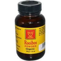 Grocery - African Red Tea - African Red Tea Organic Rooibos Powder Glass Jar 50 gm