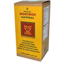 Grocery - African Red Tea - African Red Tea Organic/Kosher Rooibos Natural Red Tea 20 bags