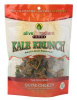 Specialty Sections - Alive & Radiant Foods - Alive & Radiant Foods Kale Krunch Quite Cheezy 1 oz (6 Pack)