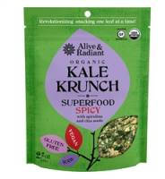 Specialty Sections - Alive & Radiant Foods - Alive & Radiant Foods Spicy Superfood Kale Krunch 2.2 oz (6 Pack)