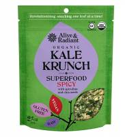 Specialty Sections - Alive & Radiant Foods - Alive & Radiant Foods Superfood Kale Krunch 2.2 oz (6 Pack)