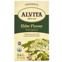 Grocery - Alvita Teas - Alvita Teas Elder Flower Tea Organic (24 Bags)