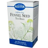 Grocery - Alvita Teas - Alvita Teas Fennel Seed Tea Organic (24 Bags)