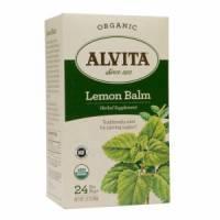 Grocery - Alvita Teas - Alvita Teas Lemon Balm Organic Tea (24 Bags)