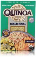 Ancient Harvest Organic White Grains Traditional Quinoa 12 oz (6 Pack)