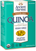 Ancient Harvest Quinoa Pasta Veggie Curls 8 oz (6 Pack)