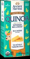 Ancient Harvest Quinoa Supergrain Mac & Cheese Mild Cheddar W/Llama Noodles 6.5 oz  (6 Pack)