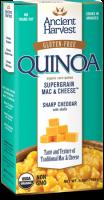 Ancient Harvest Quinoa Supergrain Mac & Cheese Sharp Cheddar W/Shells 6.5 oz (6 Pack)