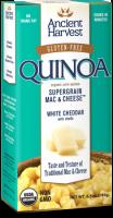 Ancient Harvest Quinoa Supergrain Mac & Cheese White Cheddar W/Shells 6.5 oz (6 Pack)