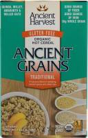 Grocery - Oatmeal - Ancient Harvest - Ancient Harvest Traditional Hot Cereal 10.58 oz (6 Pack)