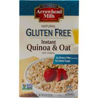 Specialty Sections - Gluten Free - Arrowhead Mills - Arrowhead Mills Gluten Free Instant Quinoa & Oat Hot Cereal 8 oz