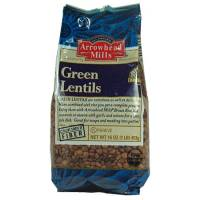 Specialty Sections - Arrowhead Mills - Arrowhead Mills Green Lentils 16 oz