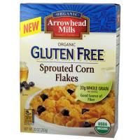 Gluten Free - Cereal & Granola - Arrowhead Mills - Arrowhead Mills Organic Gluten Free Corn Flakes 10 oz