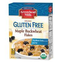 Specialty Sections - Arrowhead Mills - Arrowhead Mills Organic Gluten Free Maple Buckwheat Flakes 10 oz