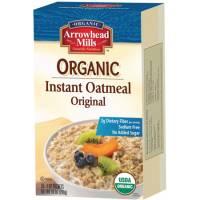 Arrowhead Mills Organic Instant Oatmeal Original 10 oz