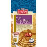 Grocery - Baking Mixes & Extracts - Arrowhead Mills - Arrowhead Mills Organic Oat Bran Pancake and Waffle Mix 26 oz