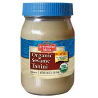 Specialty Sections - Arrowhead Mills - Arrowhead Mills Organic Roasted Sesame Tahini 16 oz