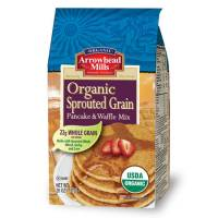Grocery - Baking Mixes & Extracts - Arrowhead Mills - Arrowhead Mills Organic Sprouted Grain Pancake & Waffle Mix 26 oz
