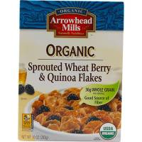 Grocery - Cereals - Arrowhead Mills - Arrowhead Mills Organic Sprouted Wheat Berry & Quinoa Flakes 10 oz