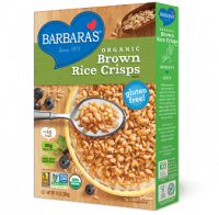 Grocery - Cereals - Barbara's Bakery - Barbara's Bakery Cereal Brown rice Crisps 10 oz (6 Pack)