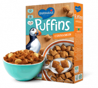 Grocery - Cereals - Barbara's Bakery - Barbara's Bakery Cereal Puffins Cinnamon 10 oz (12 Pack)