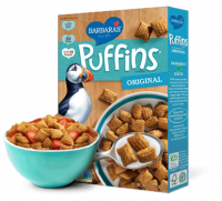 Grocery - Cereals - Barbara's Bakery - Barbara's Bakery Cereal Puffins Crunchy Corn 10 oz (12 Pack)