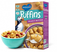 Grocery - Cereals - Barbara's Bakery - Barbara's Bakery Cereal Puffins Peanut Butter 11 oz (12 Pack)